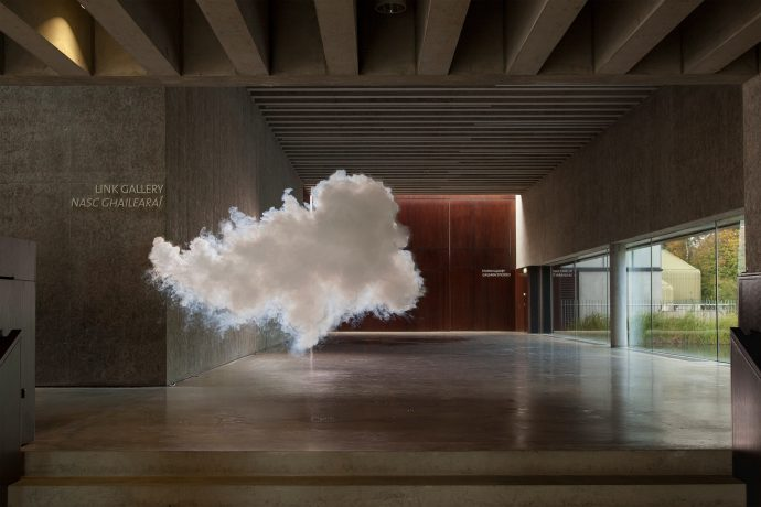 Nimbus Visual (2013). Courtesy of Berndnaut Smilde and Ronchini Gallery.
